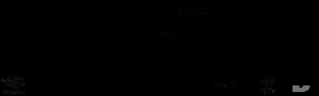 Broadcaster Logos Black Web