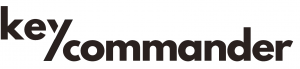 Key Commander Logo Text INVERT